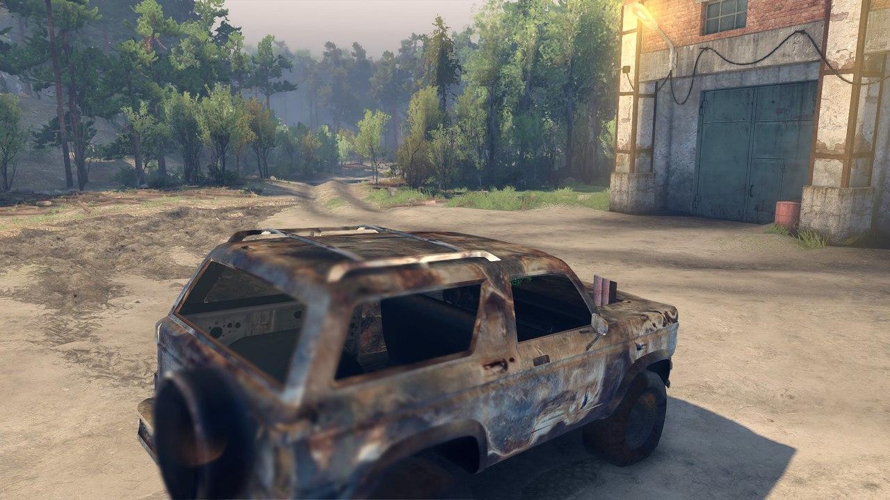 Ford Bronco для Spintires - Скриншот 3