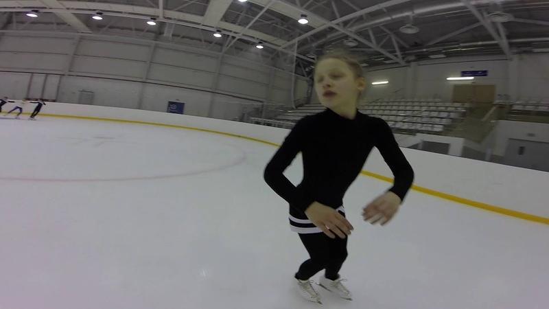 Прыжковые элементы с различных заходов тренер Добрин С В