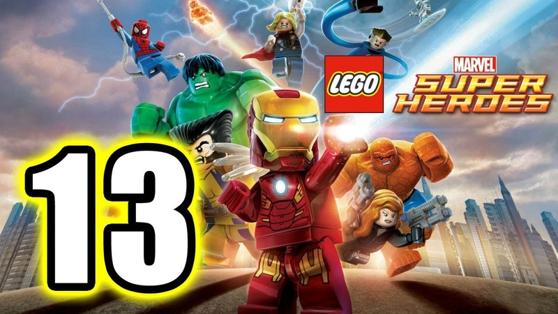 LEGO Marvel Super Heroes Walkthrough PART 13 PS3 Lets Play Gameplay TRUE HD QUALITY
