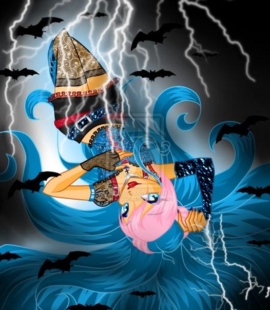 Винкс Хэллоуин 2013 арты +Стихи, и игра одевалка на Хэллоуин!
