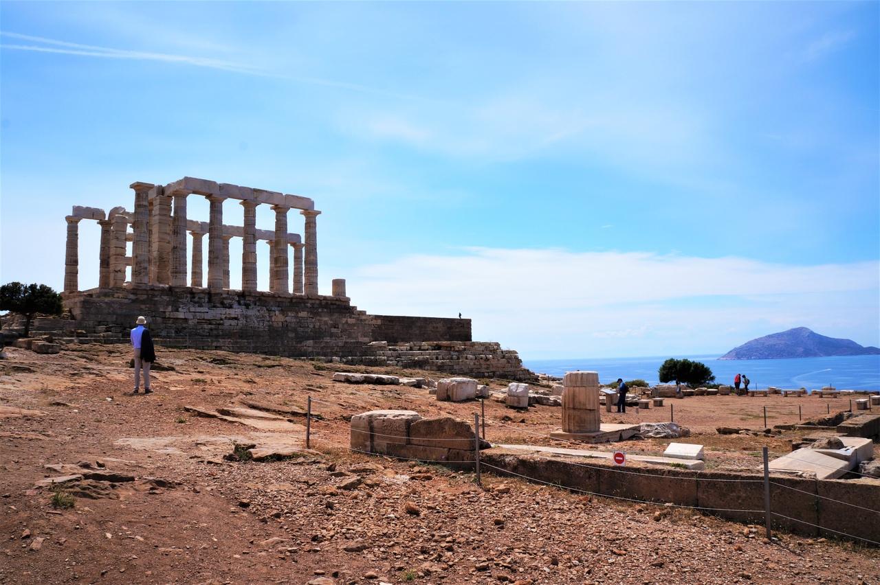 Священный мыс Сунион и его храм Посейдону