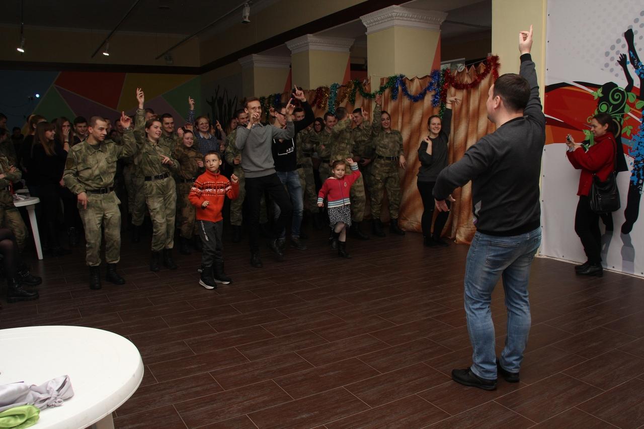 Крещенские гуляния в Донецком городском молодежном центре