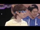 090510 Gameshow Amazing Contest Eunhyuk won the Jump Game and Got the Crown