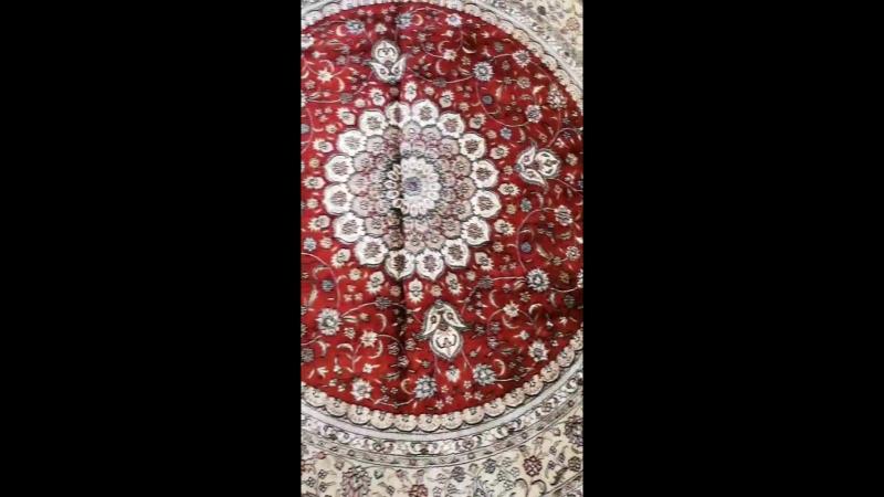 Handmade silk carpet mordern wool rug
