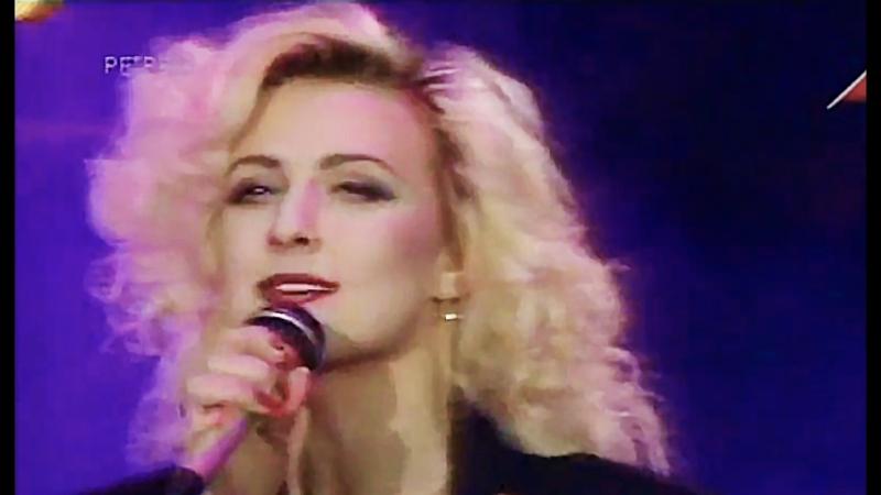 Красивая девчонка Татьяна Овсиенко Хит парад Останкино 92 1992 год В Чайка Л Рубальская