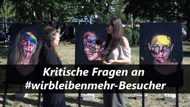 Unterwegs auf dem Kosmos Chemnitz wirbleibenmehr | Interviews mit Teilnehmern