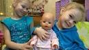 Обзор гардероба кукол baby Born Нели и baby Anabel Ромы famosa nenuco Тани