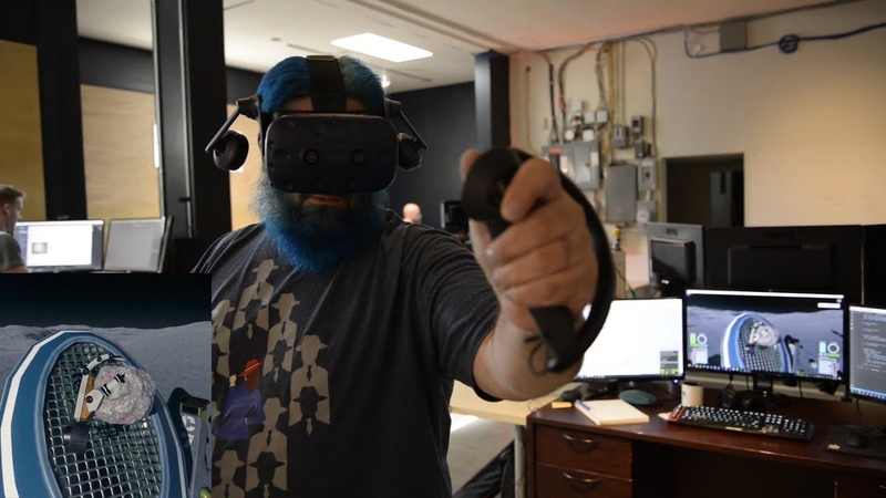 SteamVR Knuckles EV2 - Moondust Demo Gameplay and Commentary
