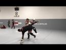 Каб Свонсон и чемпион К-1 Такеру Сегава (+ Дуэйн Ладвиг загораживает обзор)