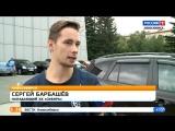 Благотворительная автомойка хк «Сибирь» с участием хоккеистов и девушек из группы поддержки.