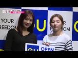 180823 Seulgi & Joy (Red Velvet) @ GU Pop-up Store Opening