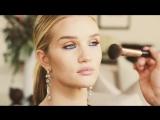 Rosie Huntington-Whiteley and Sir John blue eye makeup tutorial