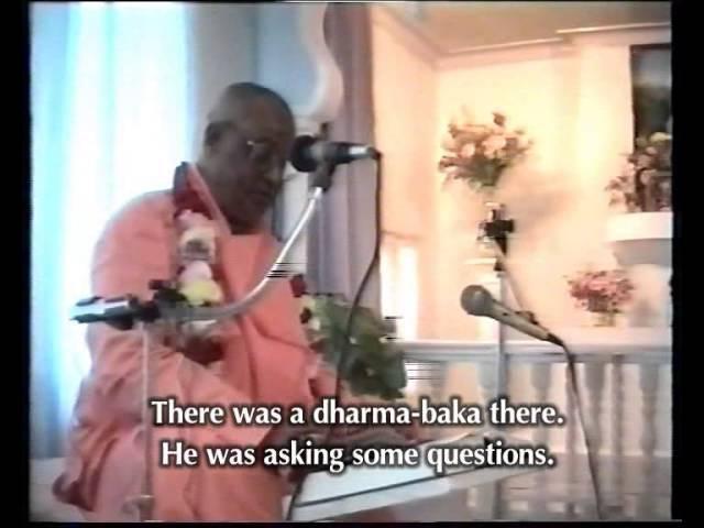 Шрила Гоур Говинда Махарадж Шримад Бхагаватам 8 7 22 Шива таттва
