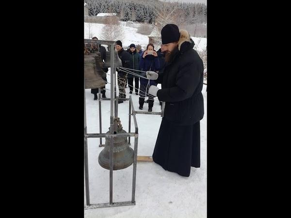 Звон старшего звонаря Данилова монастыря Москвы иеродиакона Романа (Огрызкова)
