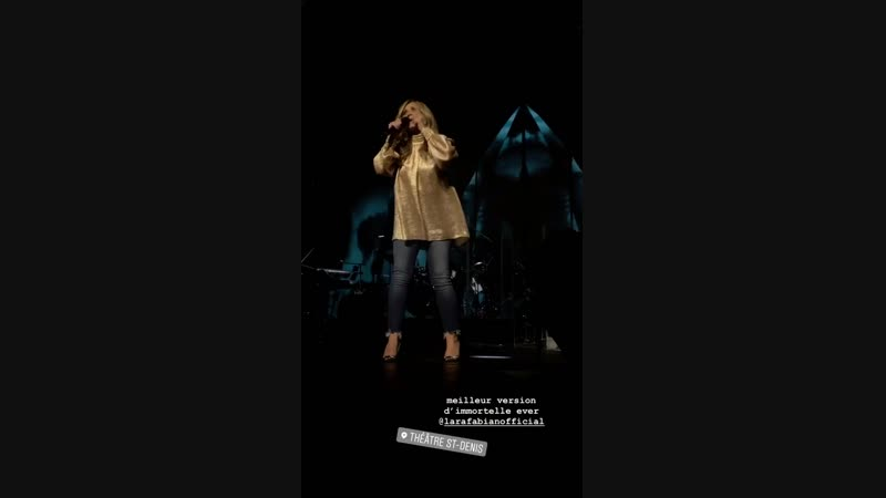 Lara Fabian - Montreal -Si tu m'aimes 13.10.18