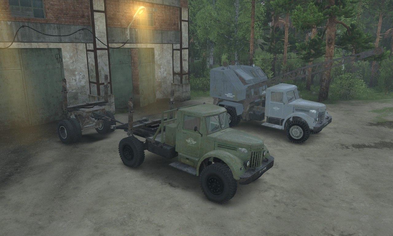 МАЗ 200 серии для 03.03.16 для Spintires - Скриншот 2