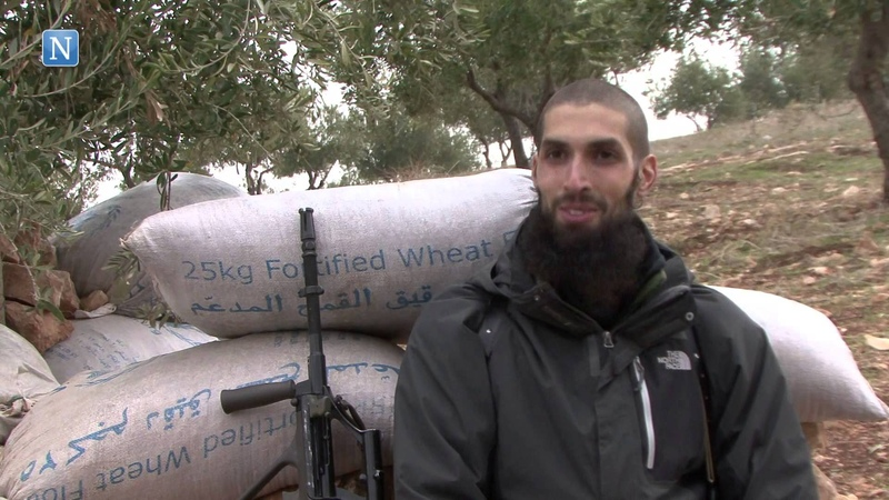 Dutch former Royal Netherlands Army soldier trains jihadists in Syria.