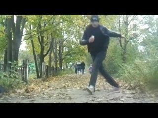 Free Step Online Battle vol.1 black vs Васек
