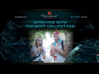 Interview with the most unlucky fan, The International 7
