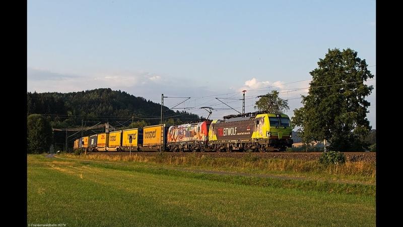 TX Logistik, EBS 140er, Holzroller, HSL, ICE Umleiter uvm. auf der Frankenwaldbahn