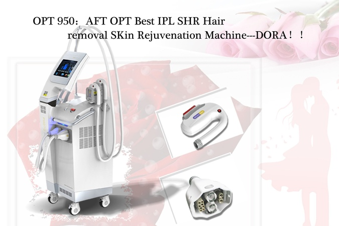 OPT IPL hair removal Machine video