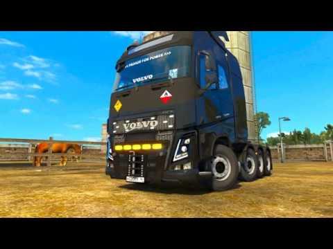 Volvo FH 2012 Tuning Pack Euro Truck Simulator 2 Больше тюнинга