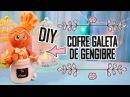 DIY ♥COFRE GALLETA DE GENGIBRE ♥ DEKORARTE EN FOAMY