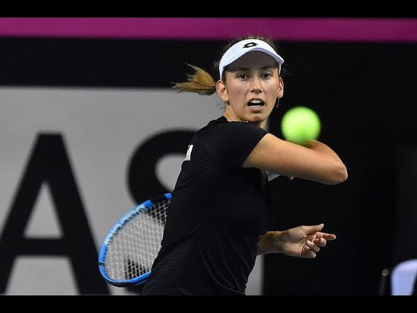 Aryna Sabalenka vs. Elise Mertens | 2018 Lugano Final