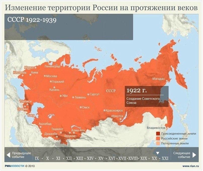Изменение территории России на протяжении веков K7f5lZUhznw