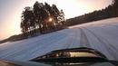 Lexus RX300 Voss Ice Lake Drift 2019 Bonus Scenes Božu ūdenskrātuve Vosa dīķis