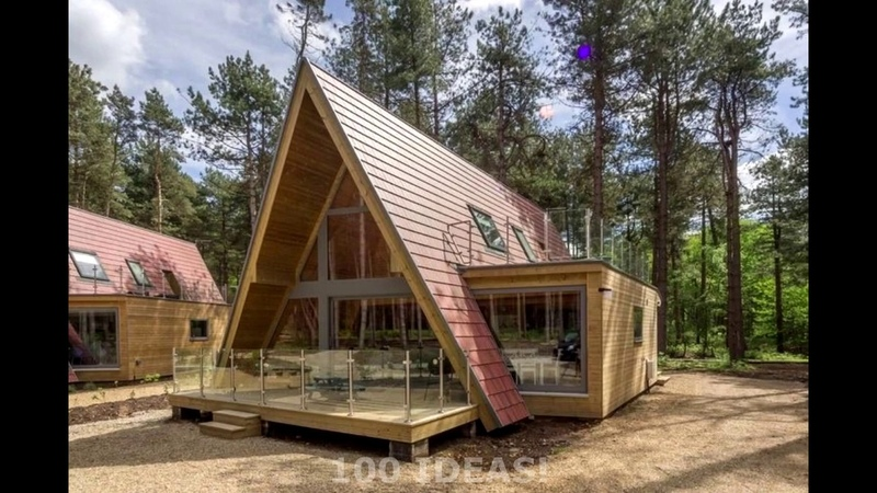 🔴 Amazing house-hut (A - shaped)! 50 examples of exterior and design!