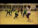 Тренировка женского футбольного клуба Миасс