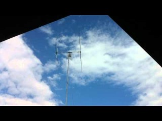 Q-Yagi CB Antenna working...