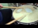 Соло на рабочем барабане