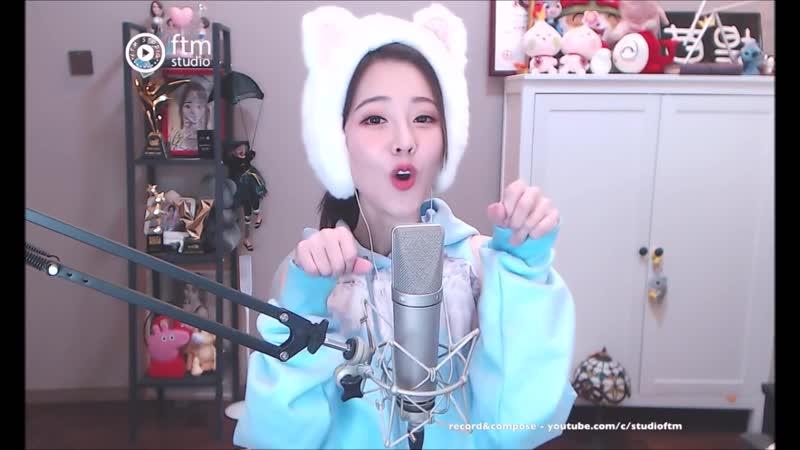 馮提莫《學貓叫Meow Meow Meow》Feng Timo 中文字幕