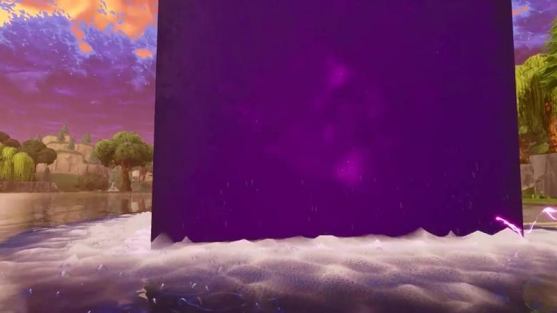 Ебанутый в край Кубик Рубика суициднулся на всратом озере в Fortnite