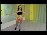 Урок по восточному танцу от Анастасии Максименко. Арабеск.