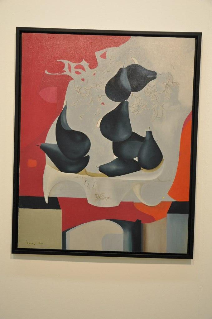 Союз художников Армении  Ваагн Тадевосян (р. 1978)  Аромат груш. 2012  Холст, масло