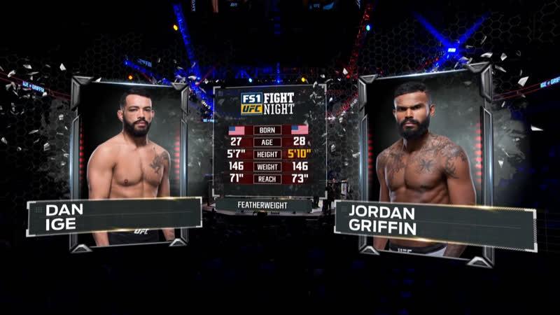 UFC FOX 31 Дэн Иг — Джордан Гриффин