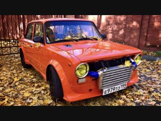 600+ сильная «Копейка» от MSG Motorsport. Тюнинг по-русски ВАЗ 2101 Turbo.