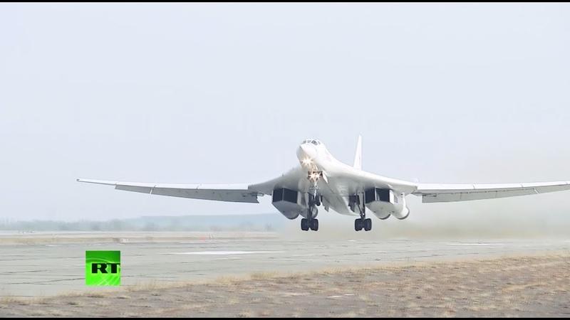 Опубликованы видеокадры учений стратегических ядерных сил