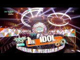 [AWARDS] 180907 BTS win No.1 place with `IDOL` on @ Music Bank
