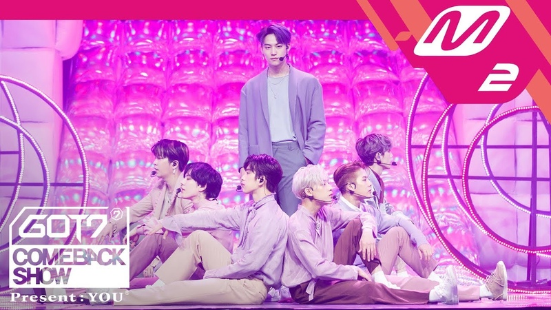 COMEBACK SHOW 180917 GOT7 Lullaby @ Mnet