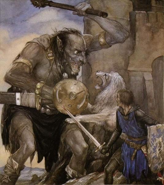Цикл романов Мабиногион, основанных на кельтско-валлийском своде. Иллюстрации Цикл написан очень поэтично и обычно ставится практически рядом с Властелином Колец и Королем былого и