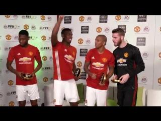 FIFA 17 - Игроки Манчестер Юнайтед