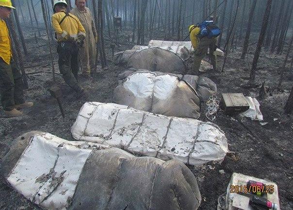 NASA опубликовало результаты испытаний несгораемых палаток