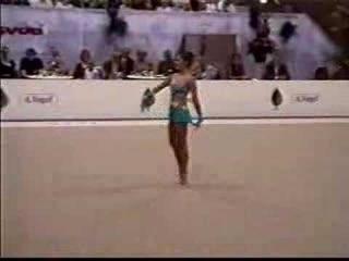 Зажигательное выступление Алины Кабаевой! 2001 год.