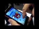 Antti Saarnio of Jolla Demoing Angry Birds and Makia OtherHalf