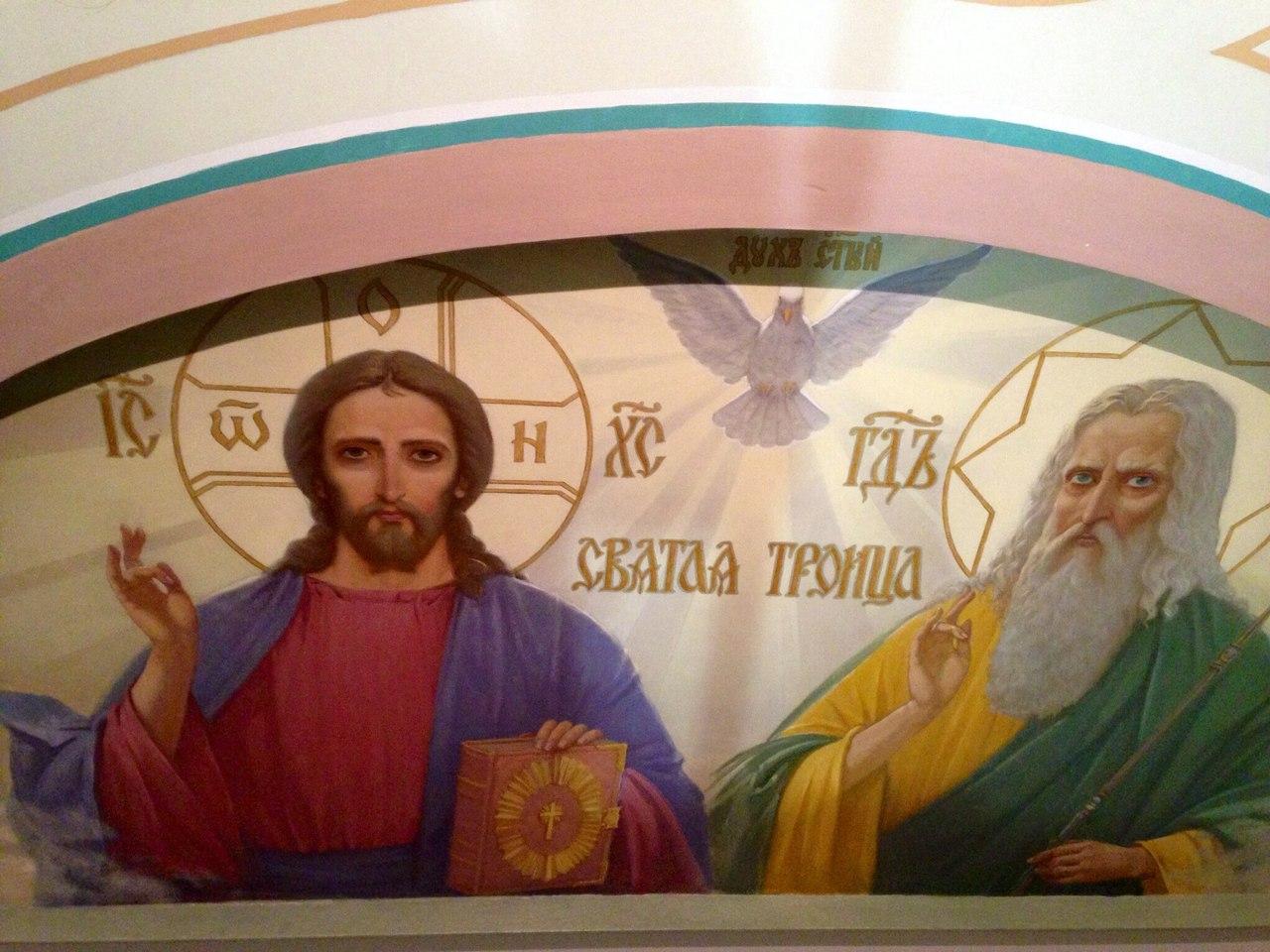 роспись часовни свт. Николая в Ломоносове