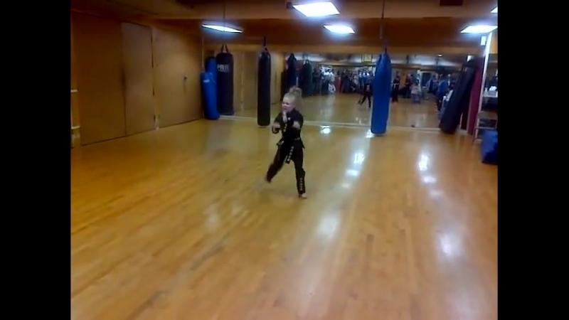 XMA Kata Karate Supergirl